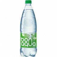Вода питьевая газированная «Bonaqua» яблоко 1 л.