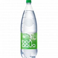 Вода питьевая газированная «Bonaqua» яблоко, 2 л.