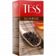 Чай чёрный «Tess» Sunrise, 25 пакетиков.
