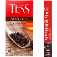 Чай чёрный «Tess» Sunrise, 25 пакетиков.