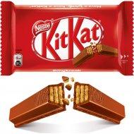 Молочный шоколад «KitKat» с хрустящей вафлей, 41.5 г.