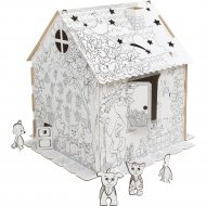 Детский игровой домик «Zima» Домик-раскраска, ДИР01