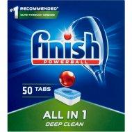 Таблетки для посудомоечных машин «Finish» All in 1, 50 шт