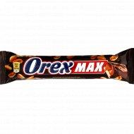 Батончик глазированный «Orex» нуга-карамель-арахис, 90 г.