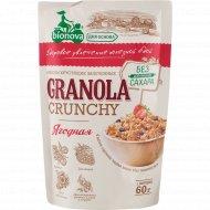 Мюсли хрустящие «Granola» ягодные, 60 г