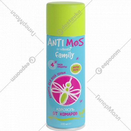 Аэрозоль от комаров «Anti Mos» 100 мл.
