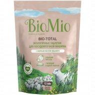 Таблетки для посудомоечных машин «BioMio» Bio-Total, 12 шт