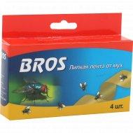 Липкая лента от мух «Bros» 4 шт.