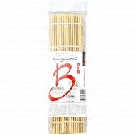 Коврик бамбуковый «SanBonsai» для суши и роллов, 240х240 мм.