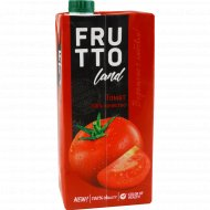 Сок «Fruttoland» томатный с солью 950 мл.