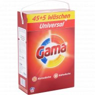 Стиральный порошок «Gama» Universal, 3.25 кг