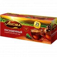 Чай чёрный «Лисма» насыщенный, 25 пакетиков.
