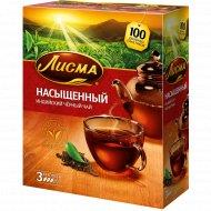 Чай черный «Лисма» насыщенный, 100 пакетиков.
