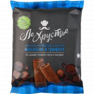 Полоски кондитерские «ЛеХрустье» со вкусом шоколада и трюфеля, 100 г.