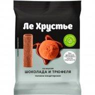 Полоски кондитерские «ЛеХрустье» со вкусом шоколада и трюфеля, 100 г