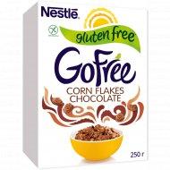 Хлопья кукурузные «Nestle» Gofree, шоколадные, 250 г.