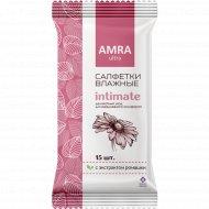 Салфетки влажные «Premial» для интимной гигиены, 15 шт.