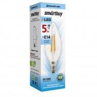 Лампа светодиодная «Smartbuy» FIL C37 5W E14 4000K.