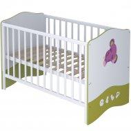 Кровать-трансформер «Polini Kids» Basic Elly, белый/зеленый