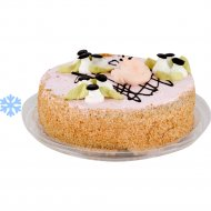 Торт бисквитный «Сказка» замороженный, 1 кг.