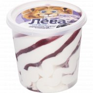 Мороженое «Суфле» с ароматом ванили и джемом черная смородина, 230 г.