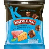Сухарики ржаные «Кириешки» со вкусом ветчины и сыра, 40 г.