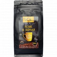 Кофе натуральный жареный «Sol» в зернах, 500 г