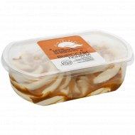 Мороженое «Выросли-поняли» крем-брюле с мягкой карамелью, 450 г.
