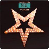 Весы «Scarlett» Gold stars, SC-BS33E100