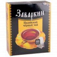 Чай черный «Заваркин» 100 пакетиков.