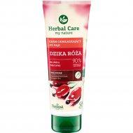 Омолаживающий крем для рук и ногтей «Herbal Care» роза, 100 мл.