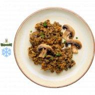 Чечевица с овощами и грибами, готовая, замороженная, 1/150.