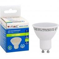 Лампа светодиодная «V-TAC» 3 ВТ 210LM GU10 3000К, SKU-7126.