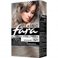 Крем-краска для волос «Fara Classic» тон 521, Пепельный.