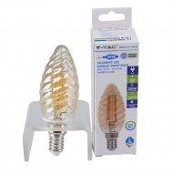 Лампа филаментная «V-TAC» 4W 350LM Е14 2200К.