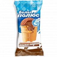 Мороженое пломбир «Белый полюс» шоколадное, 75 г.