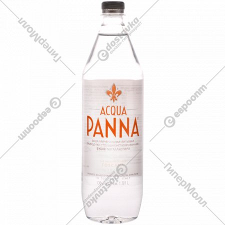 Вода «Acqua Panna» негазированная, 1 л.
