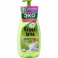 Средство для мытья посуды «Green Love» 500 мл