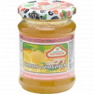 Ягода протёртая с сахаром «Заветный погребок» лимон с имбирём, 300 г.