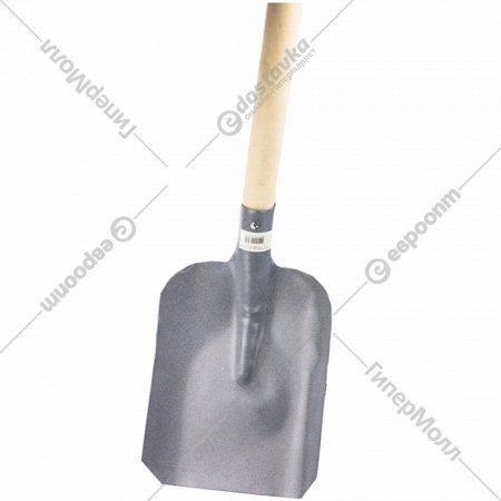 Лопата-совок с черенком, сталь 1,5мм.
