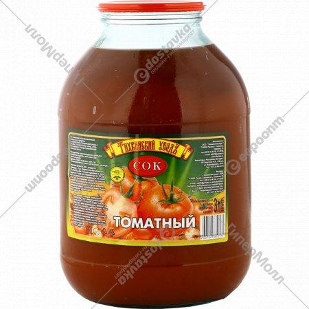 Сок «Тихвинский уездъ» томатный, 3 л.