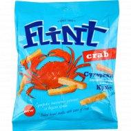 Сухарики пшенично-ржаные «Flint» краб, 70 г.