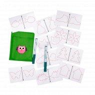 Многоразовые карточки для рисования двумя руками.