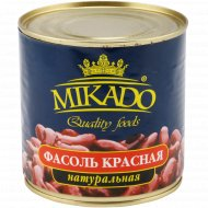Фасоль красная «Mikado» в собственном соку, 420 г.