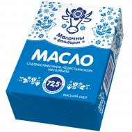 Масло сладкосливочное «Малочны фальварак» крестьянское, 72.5%, 160 г