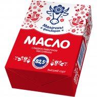 Масло сладкосливочное «Малочны фальварак» несоленое, 82.5%, 160 г