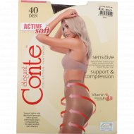 Колготки женские «Conte» Active 40 den, mocca.