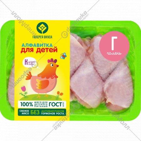 Голень цыплёнка-бройлера «Галерея Вкуса» охлажденная, 600 г.