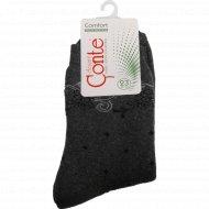 Носки женские «Conte», темно-серые, размер 23.