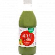 Напиток «Лёгкая цена» сыворотка с соком, яблоко-карамбола, 950 мл.